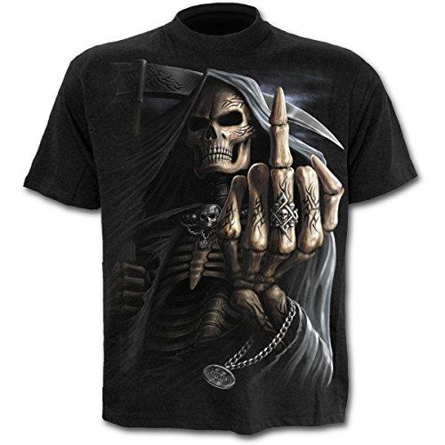 Spiral - Bone Finger - T-Shirt - Schwarz - XXL
