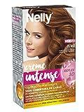 Nelly Set Tinte 7/43 Rubio Cobrizo Dorado - 12 Recipientes de 50 ml - Total: 600 ml