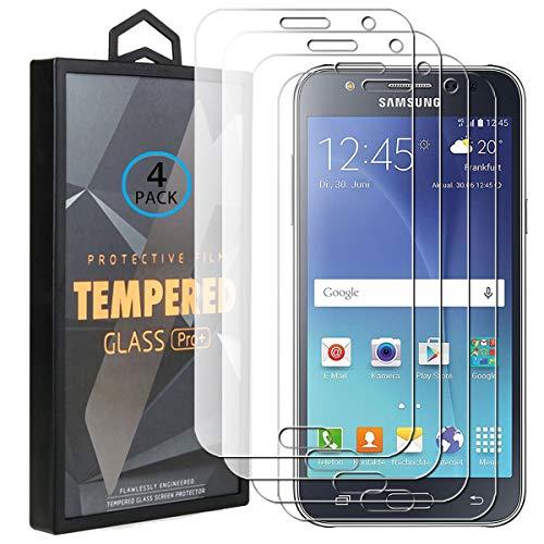 Ycloud 4 Pack Vidrio Templado Protector para Samsung Galaxy J5 2015, [9H...