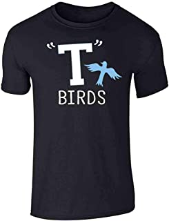 T Birds Tbird Costume Men Gang Logo Retro 50s 60s Graphic Tee T-Shirt for Men