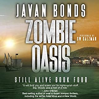 Zombie Oasis audiobook cover art