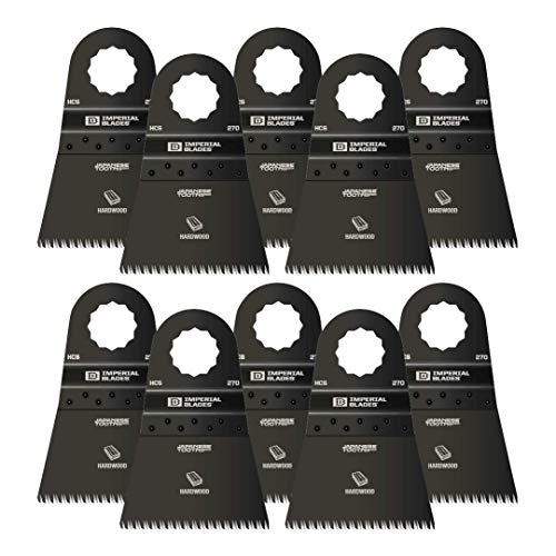 Buy Bargain Imperial Blades IBSC270-10 SuperCut 2-1/2 Japanese Tooth Hardwood Blade, 10PC