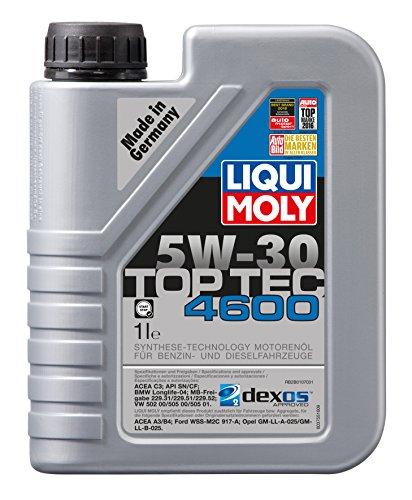 LIQUI MOLY 3755 Top Tec 4600 Motoröl 5 W-30 1 L