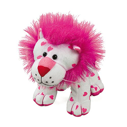 Plush Lion for Valentine's Day - Great Gift for Kids - 1 Stuffed Animal Lion