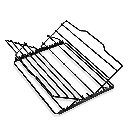 Honey-Can-Do 2555 Non-stick Adjustable Kitchen Supply Roasting Rack, 0.75-Inches H x 10.75-Inches W