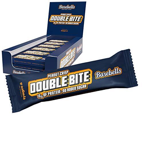 Barebells Protein Bar Double Bite Peanut Crisp 12x55g
