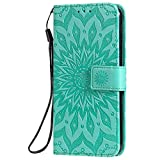 KKEIKO LG G8S ThinQ Case, LG G8S ThinQ Flip Leather Wallet