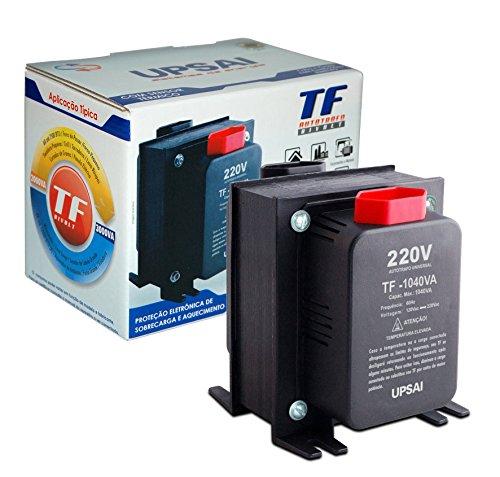 Auto Transformador de Voltagem 1000va 1040va Automático Bivolt 110v / 220v ou 220v / 110v Upsai Modelo 51000104