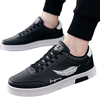 RONSHIN Men Breathable Fashion Retro Casual Sports Shoes
