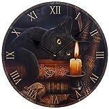 Puckator CKP79 Lisa Parker Uhr, Katzenmotiv, 3x30x30cm