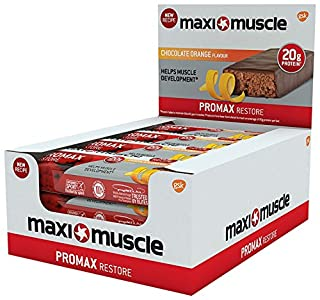 Maxinutrition Promax Bars Chocolate Orange 60 Grams (Pack of 12) (B000X45ORW) | Amazon price tracker / tracking, Amazon price history charts, Amazon price watches, Amazon price drop alerts