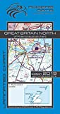 Great Britain North Rogers Data VFR Aeronautical Chart 500k: England North VFR Aeronautical Chart - ICAO Map 2019, Scale 1: 500,000 Rogers Data GmbH