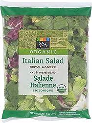 365 Everyday Value, Organic Italian Salad, 10 oz