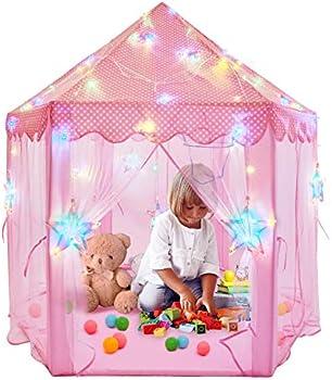 Newtion 55 x 53 Inch Princess Castle Tent