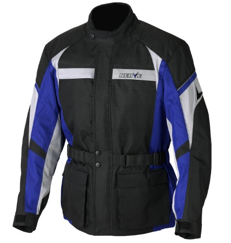 Nerve Smart Jacke, Schwarz/Blau, L
