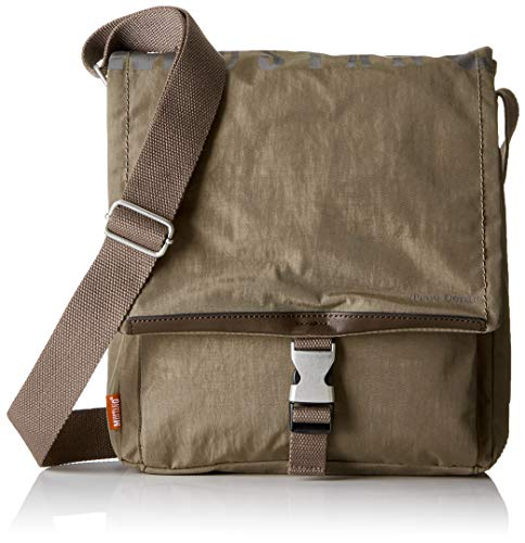 MUSTANG Herren El Paso Farrell Shoulderbag Mvf Schultertasche, Braun (Mud), 9x31x27 cm