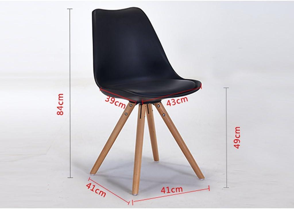 XXT-Chaise de Salle à Manger en Bois de Loisirs Moderne Minimaliste négocier Tables et chaises Durable (Color : B) B