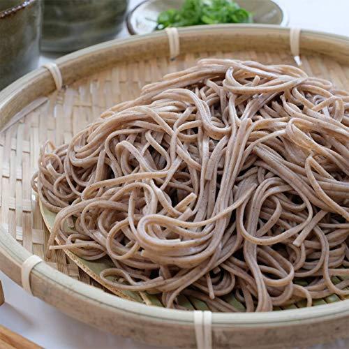 まるで生麺【花笠蕎麦】36人前(180g・18把)【安達製麺】山形の乾麺そば