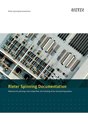 Rieter Spinning Documentation (English Edition) eBook: Rieter ...