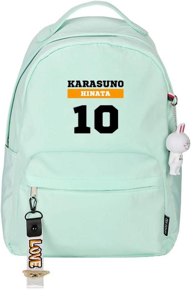 ZYSAJK Haikyuu Karasuno Recommended Vbc Anime Bags School Bookbag Small Mini Cheap bargain