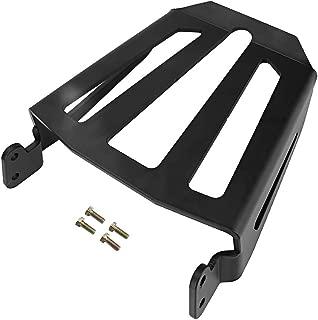 Fydun Motorcycle Rear Luggage Rack Iron Rear Luggage Rack Black Fit for Yamaha Bolt