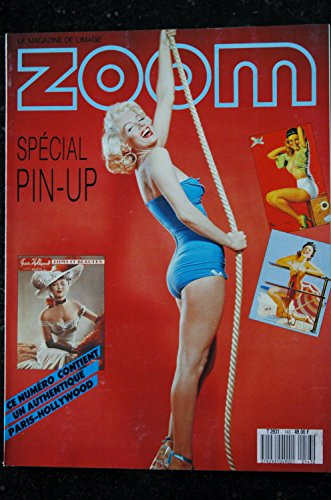 ZOOM MAGAZINE 143 SPECIAL PIN-UP 1 PARIS HOLLYWOOD OFFERT COVER MARILYN MONROE NUDISTE
