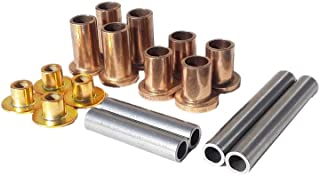REAR Wheel Hub Bushing Kit With Sleeves, For RZR 800, RZR 800s, RZR 800 4 (LEFT+RIGHT) High Performance Metal Bushings for rear wheel hubs