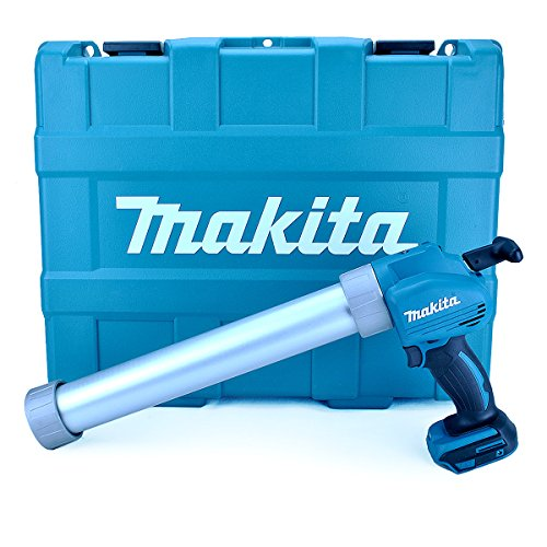 Makita DCG180ZBK 18V Li-ion LXT Caulking Gun Supplied in a Carry Case – Batteries and Charger Not Included