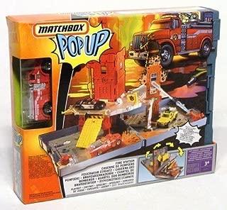 Matchbox Pop Up Adventure Set -- Fire Station