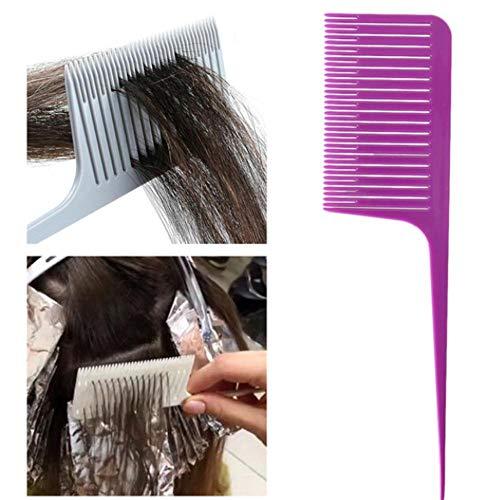 5 colores que teje profesional que destaca el peine del pelo que...