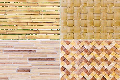 Décoration Panneau Bois Séléction Mur Plaque PVC Stable Regul - Lambris 51972-935 X 479 MM, 51972