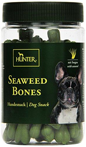 HUNTER Perros Snack Seaweed Bones, 200g, 2Unidades (2x 200g)
