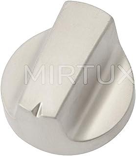 MIRTUX Mando Original para Placa vitrocerámica Teka, Prima y Thor. Diámetro 3,2 cms. Código Recambio: 61004111