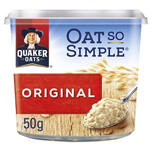 Avena Quaker Oats Así Simple Pot 50g PMP (paquete de 8 x 50 g)