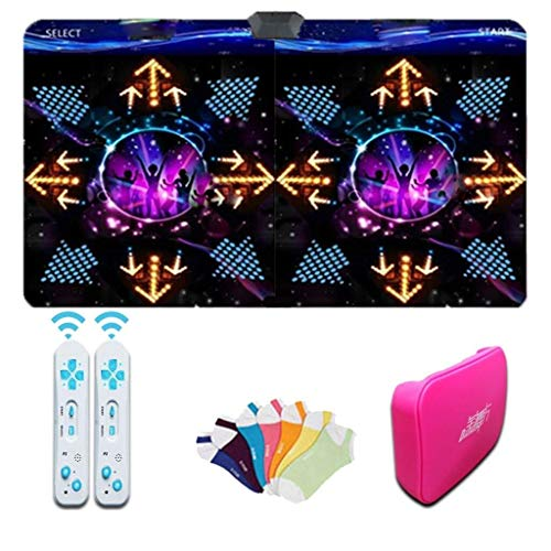Dans tapijt Double Kinderen Dansmat, draadloze HD-TV Computer Dual-use Dance Pad Fitness Game Dance Revolution 64g geheugenkaart Music deken