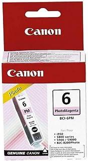 Canon CBCI6PM Photo Ink Cartridge for Bubble Jet and PIXMA Printers, Magenta