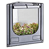 VIVOSUN Triangle Grow Tent with Bigger View Window for Indoor Plant Growing 41'x57'x71'