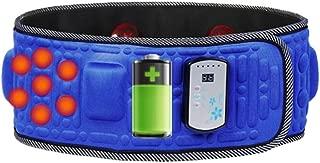 Lana Multi-Function Massage Belt, X5 Times Wireless Massager Charging Weight Loss Machine Vibration Rechargeable Electric Massager Relieve Body Soreness Fitness Belt Practice Belt (Blue)