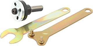 "sourcingmap 5/8""(16mm) Drill Angle Grinder Mandrel Adapter Disk Holder 2 Wrench Set 3 in 1"