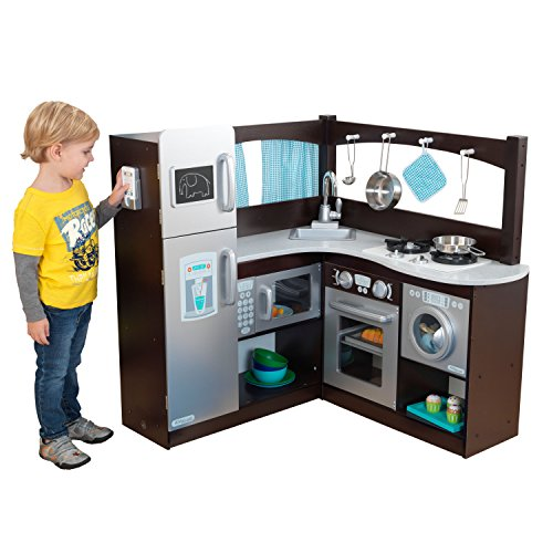 KidKraft 53302 - Grand Gourmet-Küchenecke, große Kinder Spielküche