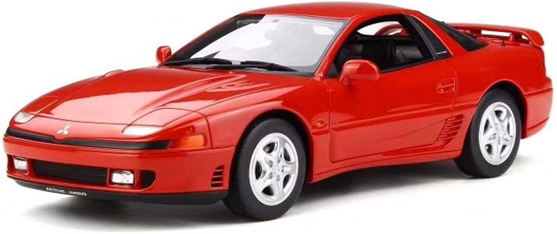 GAOQUN-TOY 1 18 Mitsubishi Mitsubishi GTO Twin Turbo OT223 Limited Resin Car Model (color   RED, Size   24cm11cm7cm)