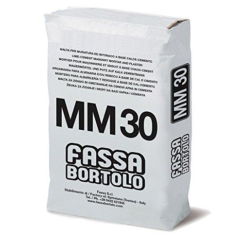 Mortel voor metselwerk 25 kg MM30 Fassa