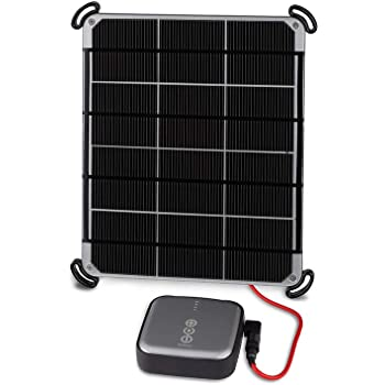 Voltaic Systems 6W Solar Panel Kit with External Battery Pack (6,400mAh) - Silver