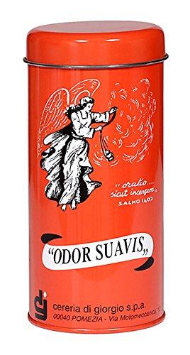 Cereria di Giorgio Liturgico Incenso Odor Suavis, Metallo, Nero, 17x8x17 cm