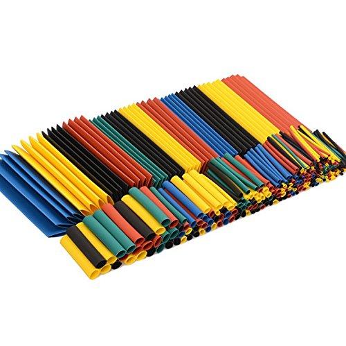 Myhonour 328tlg Schrumpfschlauch Set Schrumpfschläuche Sortiment Verschiedene Größen Heat Shrink Tube Wire Wrap Assortment