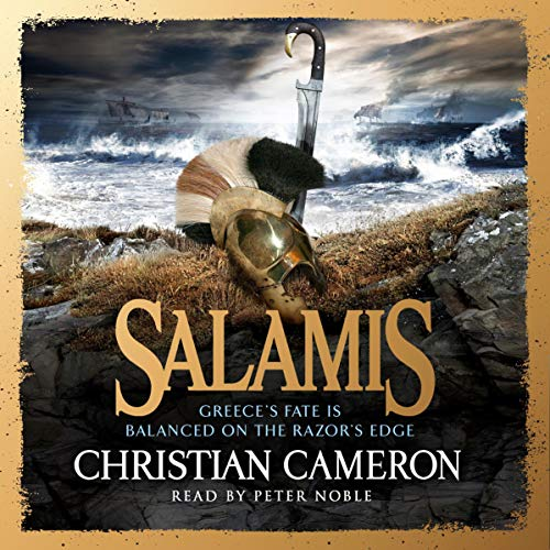 Salamis audiobook cover art