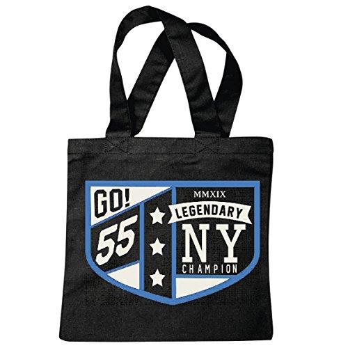 Tasche Umhängetasche Legendary Champion New York City Amerika California USA Route 66 BIKERSHIRT NY Motorcycle NYC Liberty VEREINIGTE Staaten Bronx Brooklyn LOS Angeles Manhattan Einkaufstasche Sch