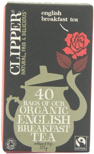 Clipper Organic English Breakfast Tea (Pack of 6)
