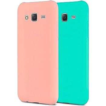 Anfire 2X Samsung J3 Funda, Carcasa Silicona Gel TPU para Samsung ...