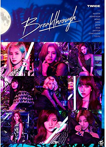 dili-bala Kpop Twice [Happy Happy] Neu 4th Mini Album Autogrammkarte Fotobuch Poster - H03-420 297mm